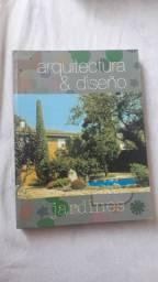 Livro de paisagismo e jardinagem
