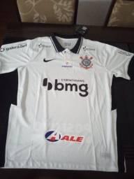 Camisa tailandesa do Corinthians Branca tamanho M