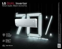 Ar Split LG Inverter 18000 BTUs + Nota + Garantia + Aceito Cartão
