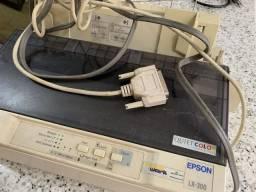 Impressora epson Lx-300 matricial seminova
