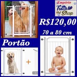 Portãozinho para Pet e crianças