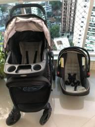 Kit carrinho + bebê conforto GRACO!! Importado super conservado!