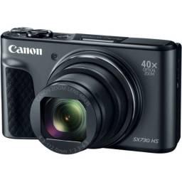 Câmera Digital Canon PowerShot SX730 HS Full HD 20.3MP WiFi/NFC/Bluetooth Preto