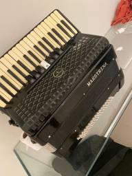 Sanfona acordeon maestrina 80 baixos
