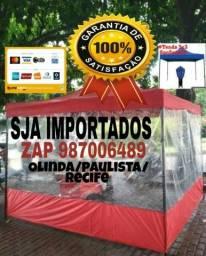 A MAIS VENDIDA TENDA SANFONADA 2X2 3X3/ ACEITO CARTAO