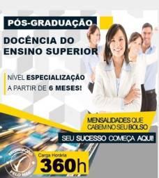Faça sua Pós-Graduação Docência do Ensino Superior - 05