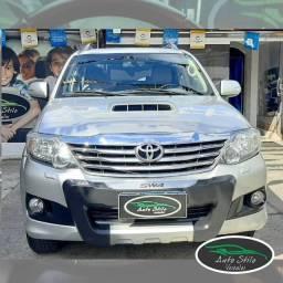 Hilux SW4 Auto, Prata, 2013, SRV 4x4 ,Disel, Completo