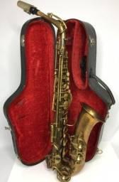 Saxofone Alto Evette Schaeffer Paris France Sapatilhado Novo