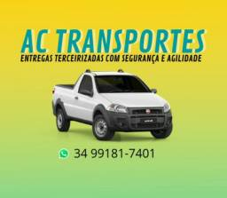 Fretes, transporte e entregas