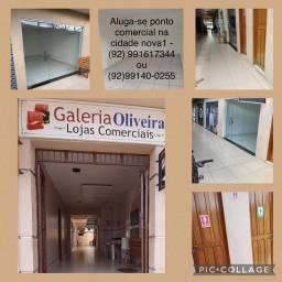 Alugo sala comercial cidade nova