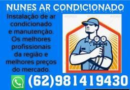 Instalação ar condicionado a partir 200 reais