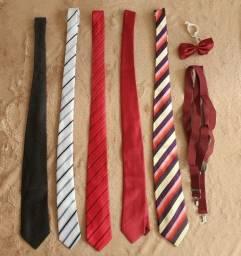 Conjunto de gravatas