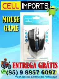 Mouse lehmox game ley 26 gamer - Entrega Grátis