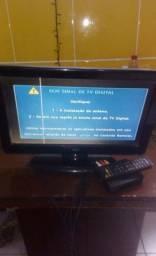 Tv Monitor e conversor digital