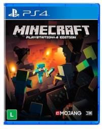 Minecraft ps4 edition usado bom estado mídia física