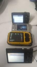 Várias câmeras digitais usadas, preço individual a combinar