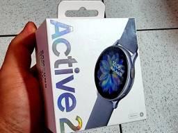 BAIXOU!!! Galaxy Watch Active 2 44mm LACRADO!!!