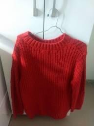Blusa de frio tricot