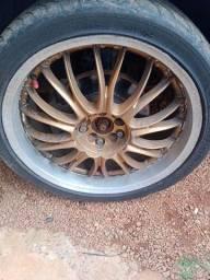troca roda BBS 19 com pneus