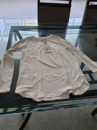 Blusa manga comprida Zara