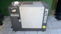 Compressor Parafuso Schulz Srp 4010 Lean 10 Hp 9 Bar 230 Lts