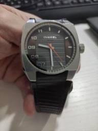 Relogio Diesel original com pulseira em couro!
