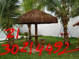 Choupana piaçava em Rio ostras 2130214492