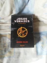 Livro trilogia jogos vorazes
