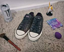 All Star Converse Original (cinza/verde escuro)
