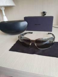 Óculos de sol masculino Prada