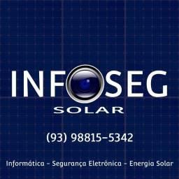 Informática - Segurança Eletrônica - Energia Solar
