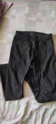 Calça jeans skinny masculina 38