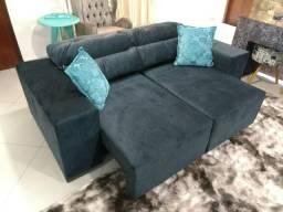 Sofa Retrátil e Reclinável 2.10 metros