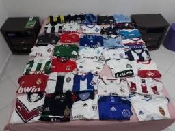 Coleção de camisas de futebol