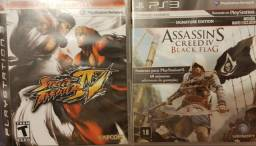 Street Fighter IV e Assassins BF PS3