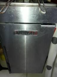 Fritadeira industrial a gás leia