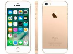 "IPhone SE Apple 128GB Dourado 4G Tela 4"" - Retina Câm. 12MP iOS 10 Proc. Chip A9 Touch ID"