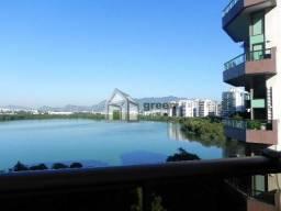 Apartamento para alugar com 4 dormitórios em Barra da tijuca, Rio de janeiro cod:SA40547