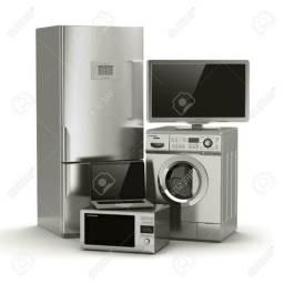Conserto: geladeiras/fogão/ar condicionado/lavadoras