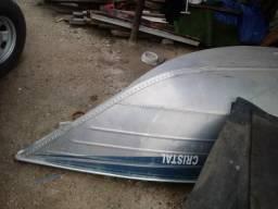 Barco reforçado de alumínio. ano 2014 ( somente o barco ) - 2014