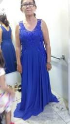 Lindo vestido Azul Roial Novo novo