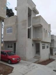 Sobrado com 3 dormitórios à venda, 106 m² por r$ 425.000 - capão raso - curitiba/pr