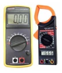 Kit Alicate Amperímetro + Capacímetro 200pf A 20mf
