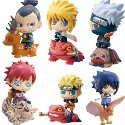 Kit com 03 funkos pop naruto