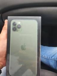 Iphone 11 pro max green lacrado com garantia