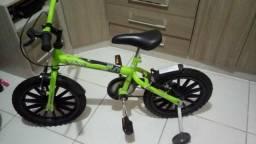 Bicicleta nova aro 14