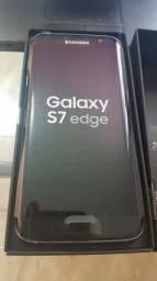 Galaxy S7 Edge + tudo original (melhor preço) IMPECÁVEL