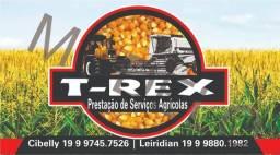 Serviços de colheita