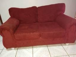 Jogo de sofá , cor vermelho