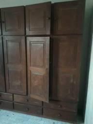 Guarda roupa 4 portas de angelim